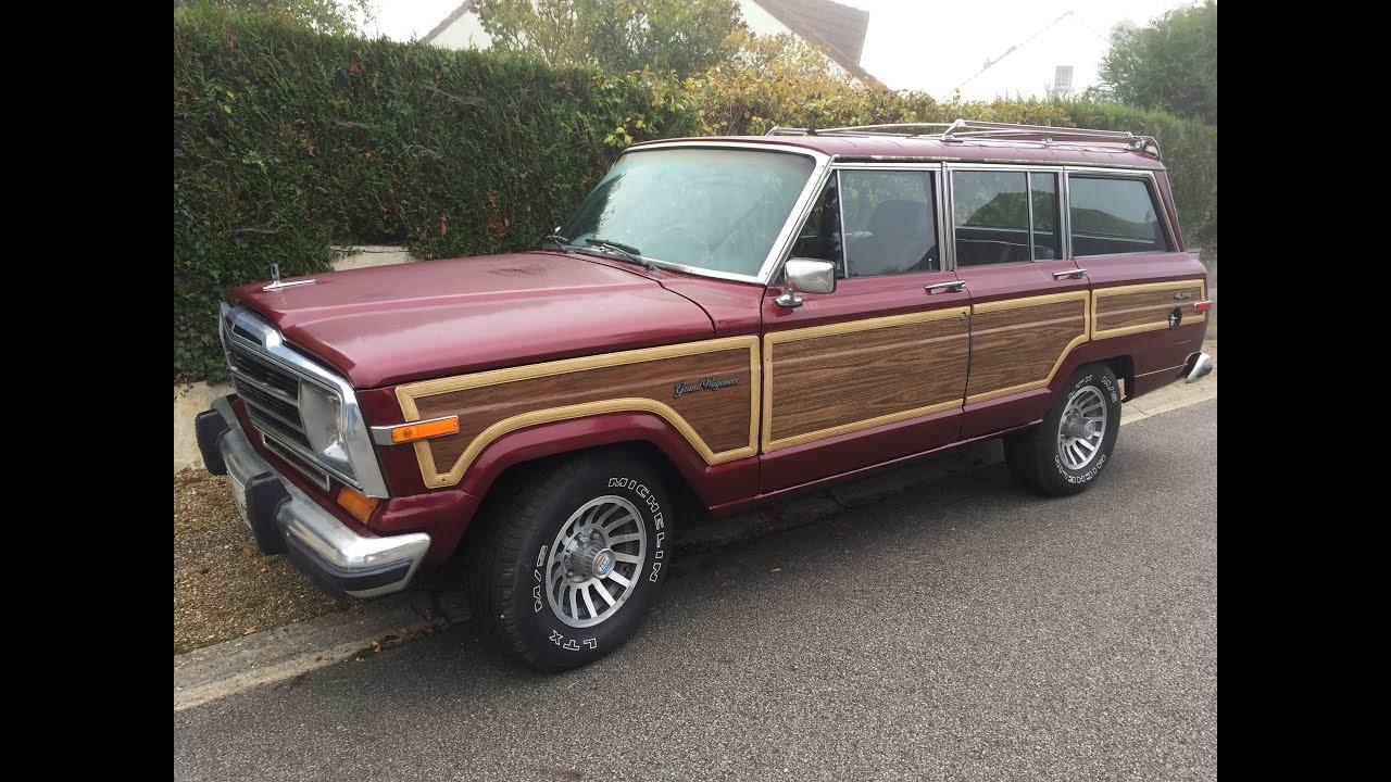 jeep grand wagoneer 1988 test youtube. Black Bedroom Furniture Sets. Home Design Ideas