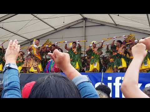 DeLa Salle College 2018 Polyfest - Tongan group