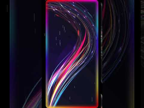 Gorgeous Neon Animated Live Wallpaper