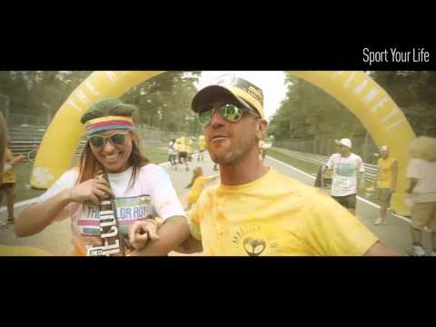 ezviz S1 Sports Camera @ The Color Run - Milano 2015