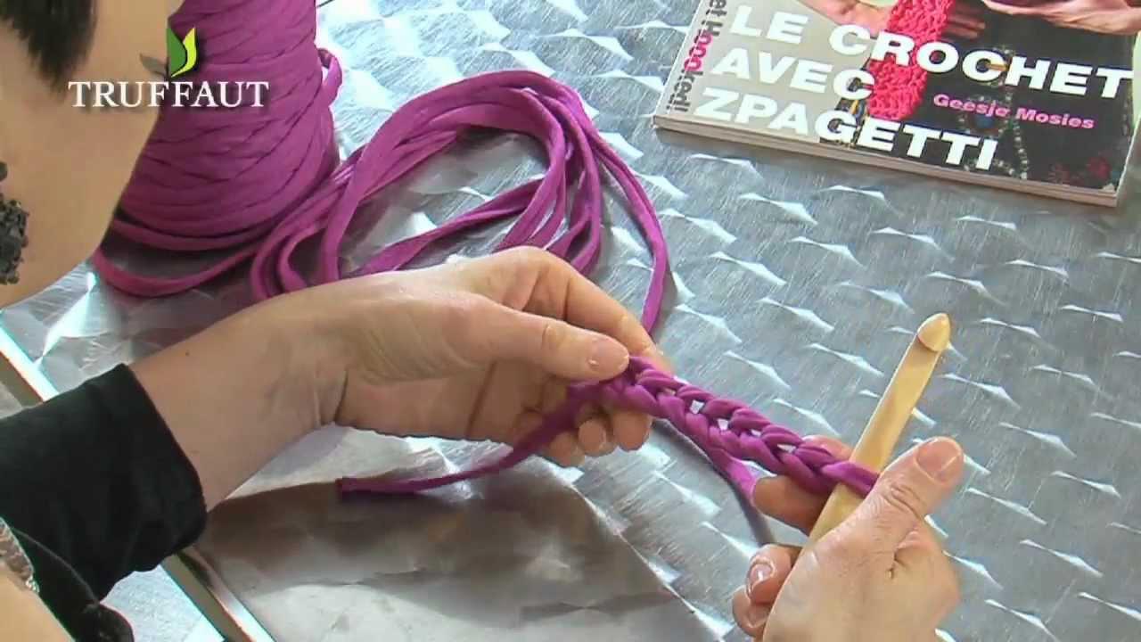 apprendre le crochet la maille serr e jardinerie truffaut tv youtube. Black Bedroom Furniture Sets. Home Design Ideas