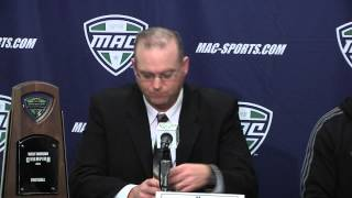 2013 MAC Football Championship: Northern Illinois Press Conference