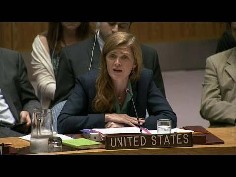 Ambassador Power's Remarks at a UN Security Council Briefing on Syria