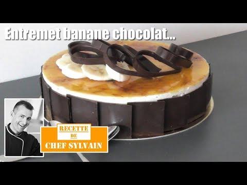 recette-gâteau-banane-chocolat---une-gourmandise-de-chef-sylvain-!