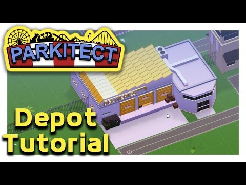 Parkitect Depot Tutorial | (Stocking your vendor stores) Alpha 5 update