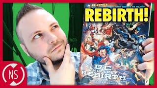 Scott's thoughts on dc comics rebirth! || nerdsync