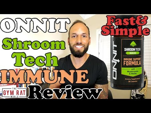 How Do Mushrooms Help Our Immune System? Onnit Shroom Tech Immune Review