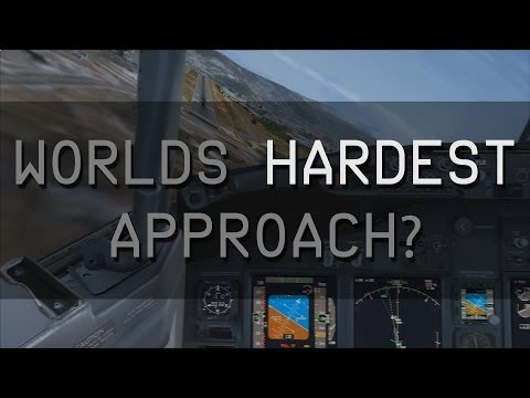WORLDS HARDEST APPROACH #1 - TONCONTIN (MHTG) LANDING PMDG 737 NGX
