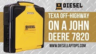 Download Video TEXA Off Highway on a John Deere 7820 - Total Scan, Engine, Tranmission, & Lift Diagnostics MP3 3GP MP4