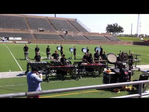 Wills Point TX High School Band, Plano Drumline Competition, Plano, TX
