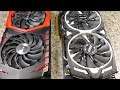 MSI RX580 ARMOR vs GAMING X+