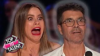TOP 10 UNIQUE Auditions And Performances On America's Got Talent 2020!