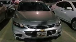 Rental Car after landing in Chicago