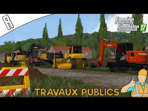 Rencontres Abonnés #1 (Travaux Publics) - Farming Simulator 17 !