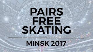 Audrey LU / Misha MITROFANOV USA - Pairs Free Skating MINSK 2017