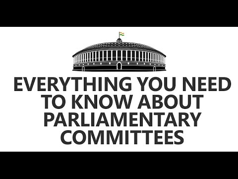 Everything You Need To Know About Parliamentary Committees By Roman Saini [UPSC CSE/IAS, SSC CGL]