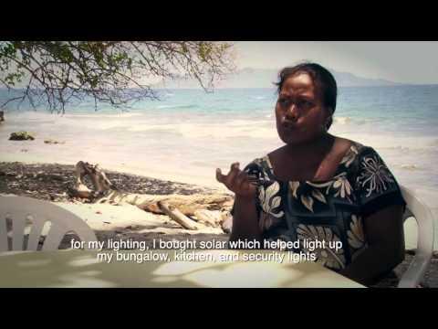 The EIF in Solomon Islands
