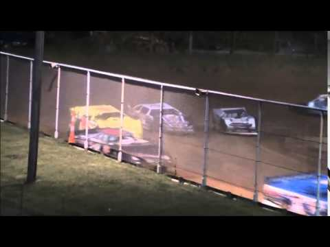 AMRA Late Model Heat #2 from Ohio Valley Speedway 9/6/14.