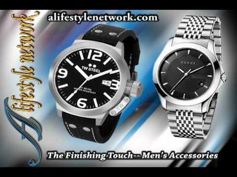 Men's Accessories, Wardrobe, Watch, Belt, Money Clip, Briefcase