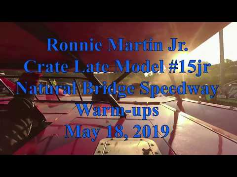 Ronnie Martin Jr warmups at Natural Bridge Speedway - 5/18/19