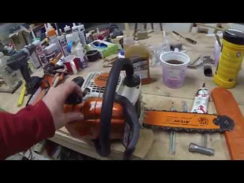 Fixing Stihl MS170 chain lubrication