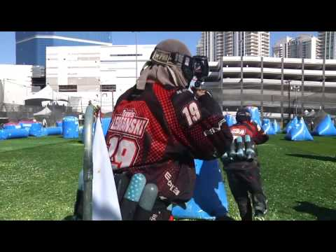 Paintball in Slow Motion w/Backing Track for Relaxation Meditation Studying Anti-Stress etc...
