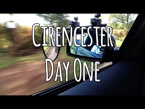Cirencester Day one. Arrival | Set up | Chilli