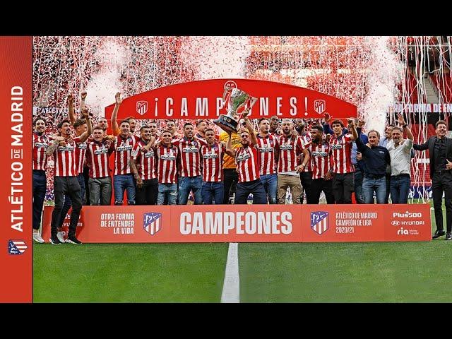 #ATMInsider   Campeones de Liga 20/21
