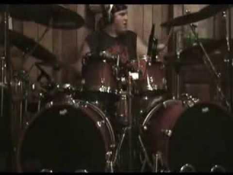 Nolan Weber - Garoted - Vigils of Suicide - Studio Sneak Peak - HYPER BLASTING NEBRASKA DEATH METAL!
