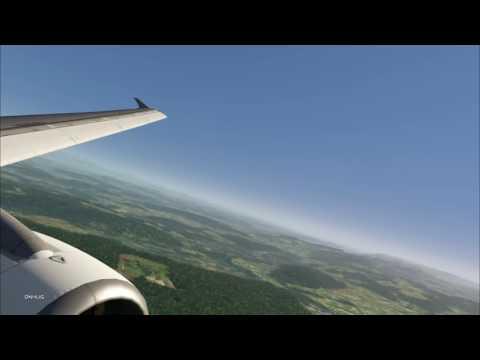 AEROFLY FS2 : A320 landing at Zürich
