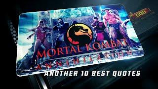 Mortal Kombat: Annihilation 1997 - Another 10 Best Quotes