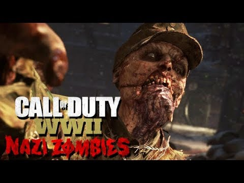 Call of Duty WW2 Nazi Zombies Mode Gameplay German #16 - Frühstückspaste