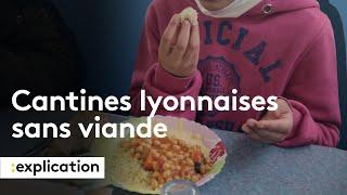 Pourquoi Lyon instaure des menus sans viande à l'école ?