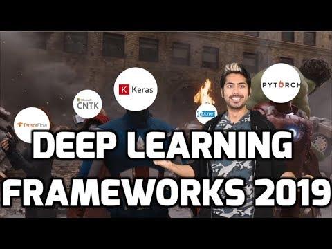 Deep Learning Frameworks 2019