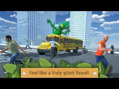 🦎Giant Lizard City Rampage Simulator-Гигантская Ящерица Городская Ярость-Virtual Animals World