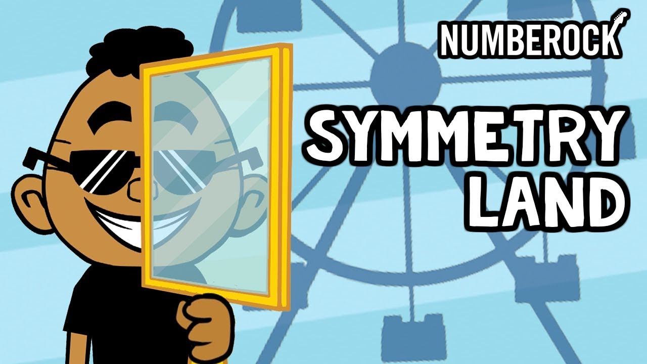 Symmetry Song for Kids | A Day at Symmetry Land | Lines of Symmetry -  YouTube