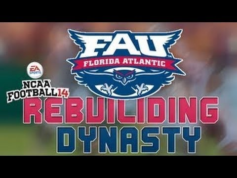 NCAA Football 14: Florida Atlantic Owls Dynasty - Episode 3 by Ryan LaFalce