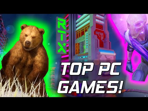 BORED? My Top PC Games To Play Whilst Stuck Indoors! 🎮 (2020)