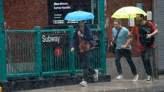 Remnants of Tropical Storm Elsa hit New York City and the tri-state area, causing floods