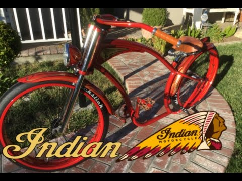 Building an Indian Motorcycle themed cruiser