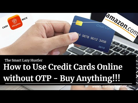 How To Use Credit Card Without OTP  {Online} - Tutorial Video!!!
