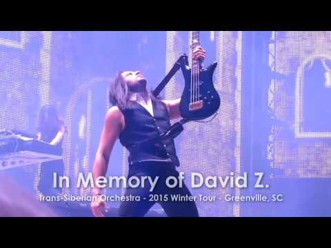 In Memory of David Z - Trans-Siberian Orchestra Winter Tour 2015