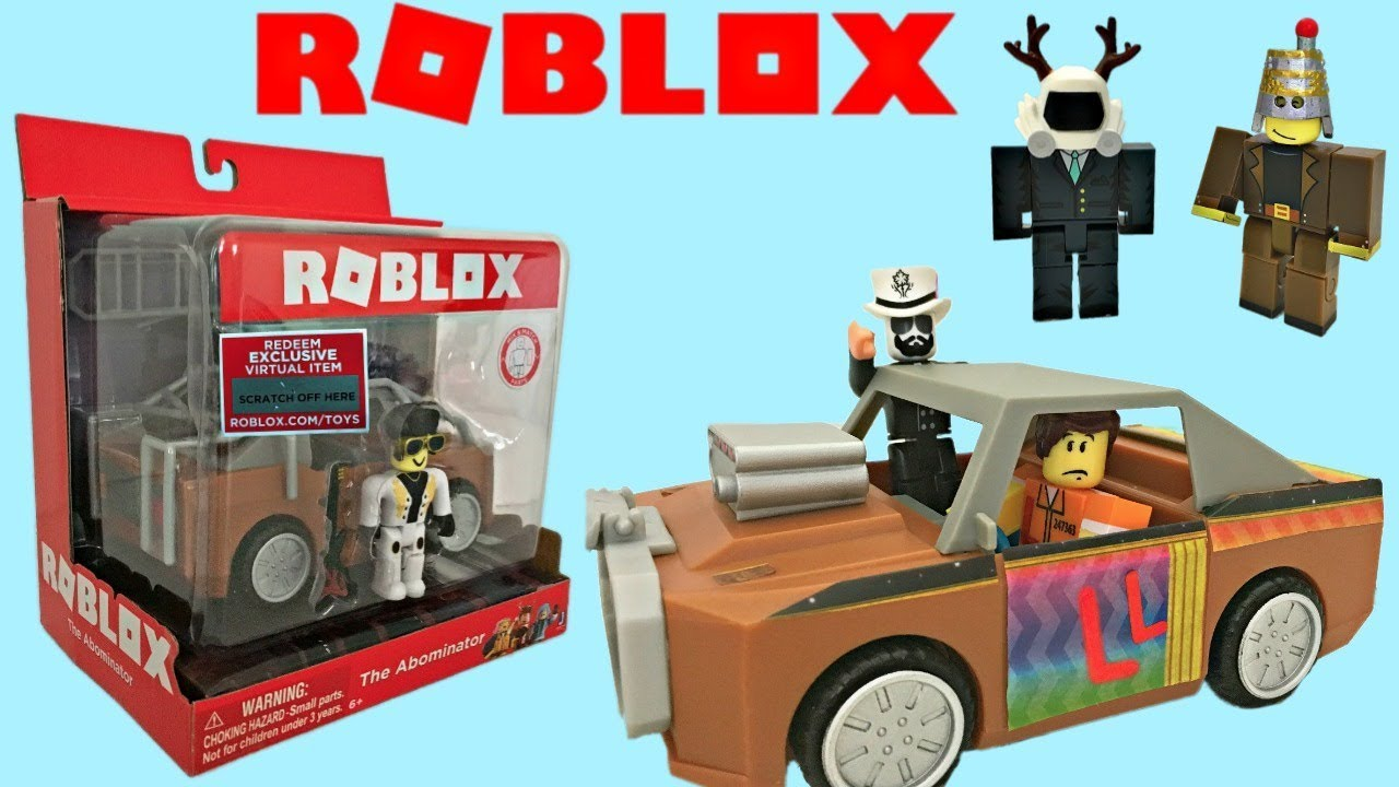 Roblox Toy Car Abominator Code Item Unboxing Toy Review Stop