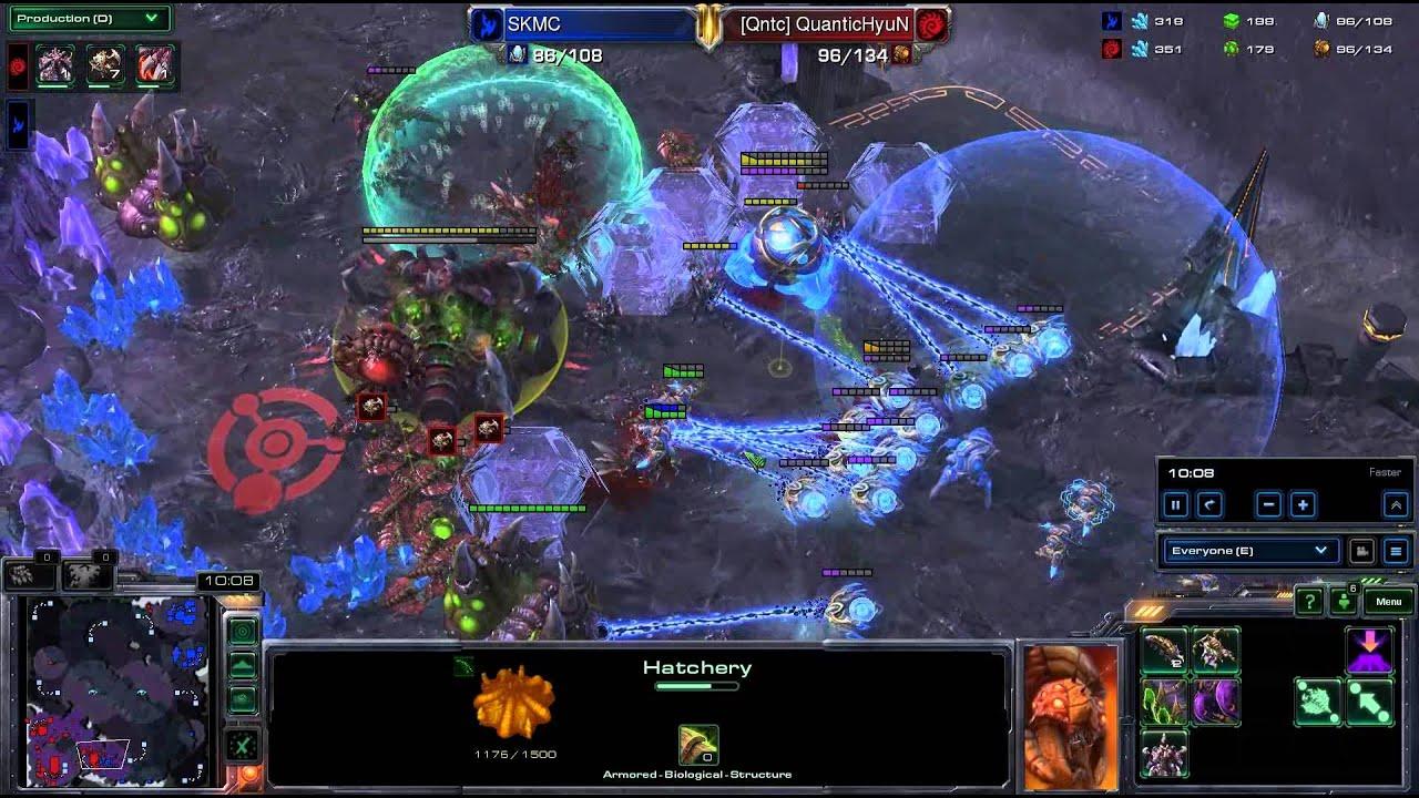 HD Starcraft 2 Hyun v MC ZvP g2