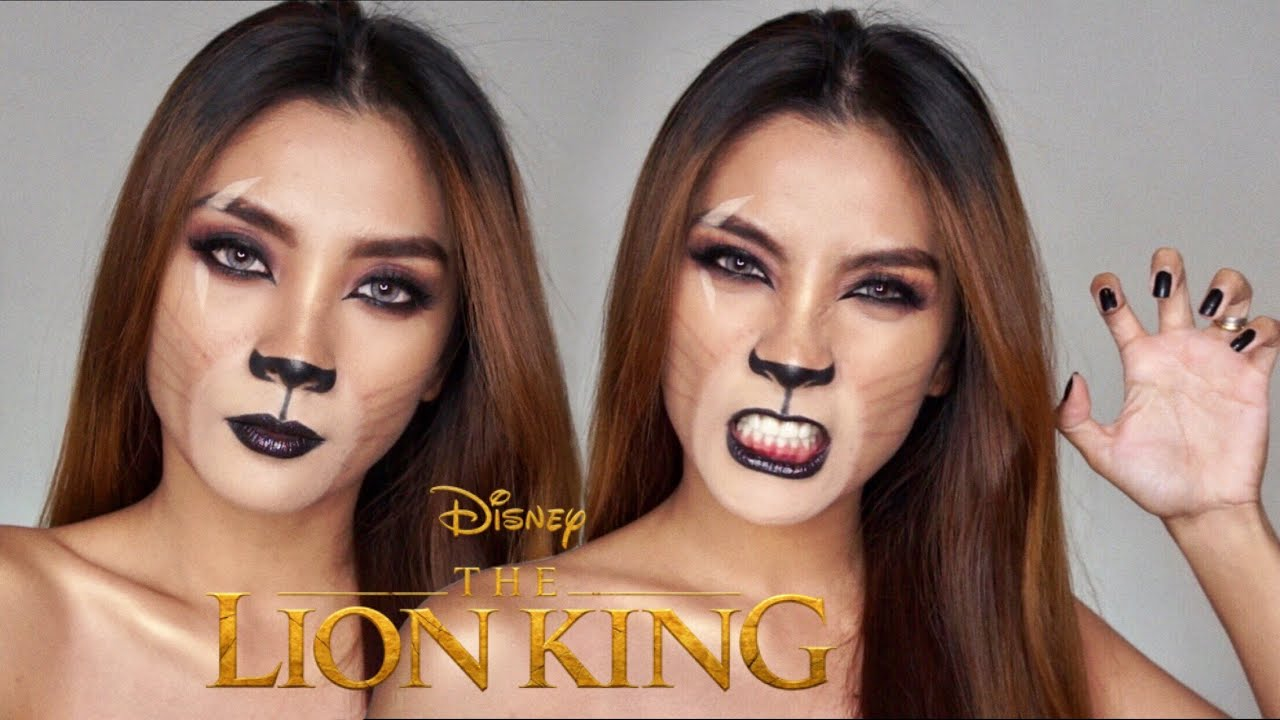 THE LION KING 'SCAR' MAKEUP TRANSFORMATION | Philippines 1