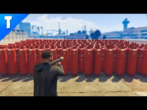 GTA 5 : Combien d'explosions pour faire crash le jeu? (Mod Menu)