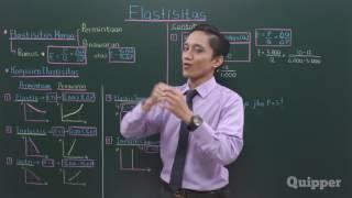 Gambar cover Quipper Video - Ekonomi -  Elastisitas - Kelas 10