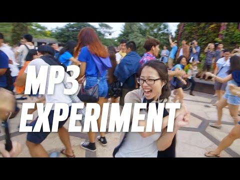 MP3 Experiment Singapore 2014 : Bring Back the Track