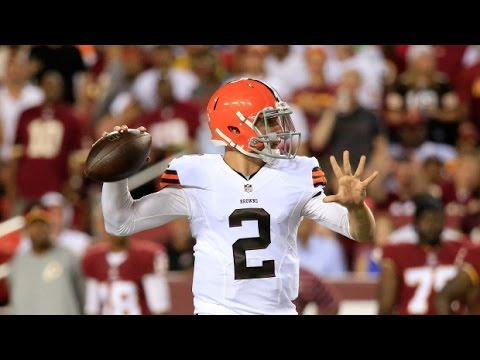 Johnny Manziel Looks Good For Cleveland Browns