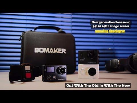 Best Amazon 4K Action Camera - New Panasonic Image Sensor